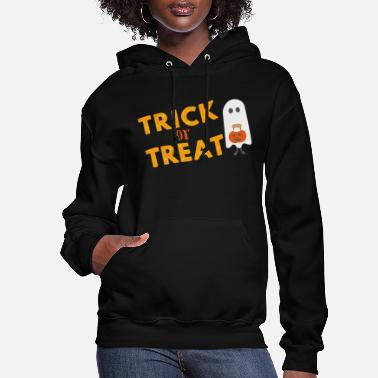 Lantern Halloween Trick Or Treat - Women's Hoodie