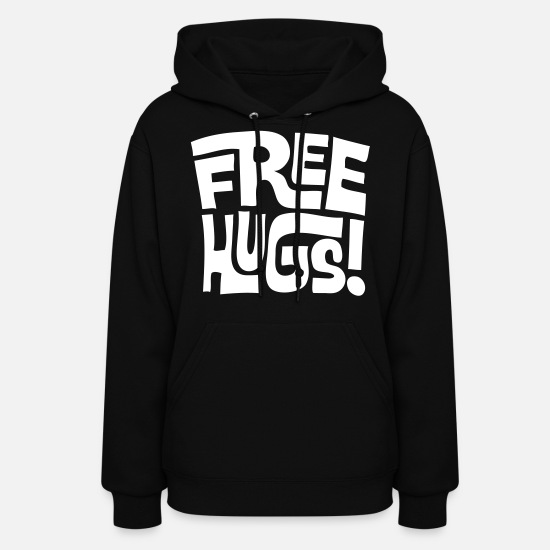 Free Hoodies & Sweatshirts - free hugs - Women's Hoodie black