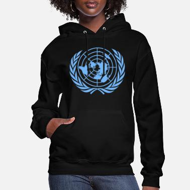United United Nations Symbol - Women's Hoodie