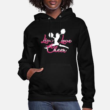 Cheer Live Love Cheer - Women's Hoodie