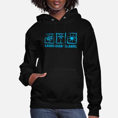 Caribbean CARIBBEAN ISLANDS 2 - Women's Hoodie