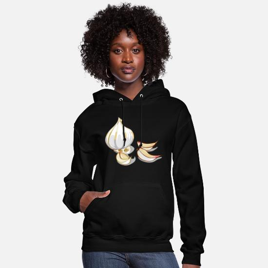 Birthday Hoodies & Sweatshirts - Garlic - Women's Hoodie black