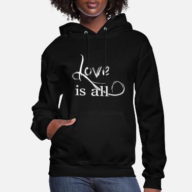 Affection Love is all - Help Affection - Women's Hoodie