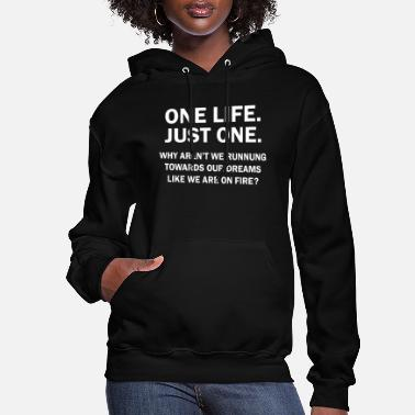 Chase Your Dreams Motivation - Chase your dreams - Women's Hoodie