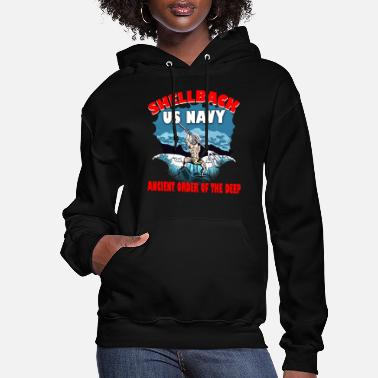 Ancient Military Veteran Shellback for Sailor and Crewman - Women's Hoodie