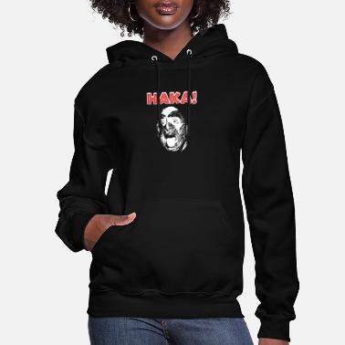 Punga New Zealand Rugby with Haka print for Rugby Fan - Women's Hoodie