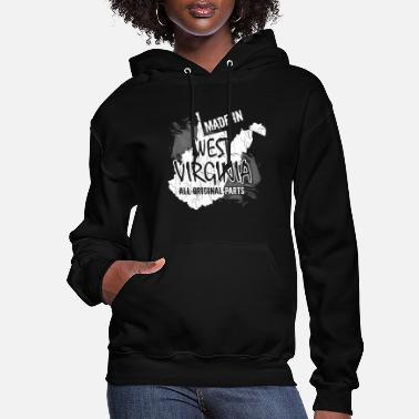 West Virginia West Virginia - Made In West Virginia - Women's Hoodie