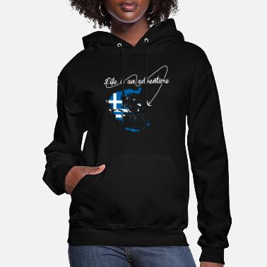 Greek Life Greek Life Is An Adventure - Women's Hoodie