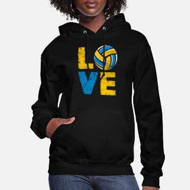 Bed Volleyball Love - Women's Hoodie