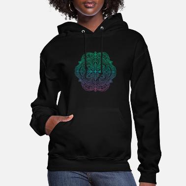 Graffiti Mandala art drawing for gift - Women's Hoodie