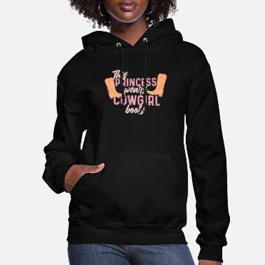 Cowboy Country Cow girl boots gift - Women's Hoodie