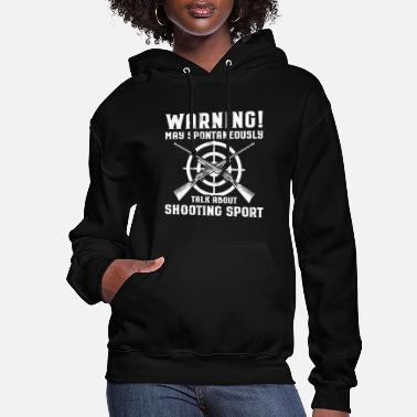 Rifle Shooting Sports/Shooter/Firing Range/Guns/Rifles - Women's Hoodie