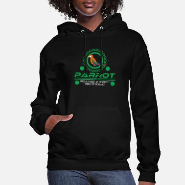 Parrot Official Parrot Of The Coolest People On Earth - Women's Hoodie