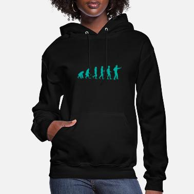 Lights Police officer evolution gift police - Women's Hoodie