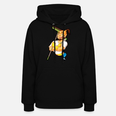 Cleaning Man Cleaning man - Women's Hoodie