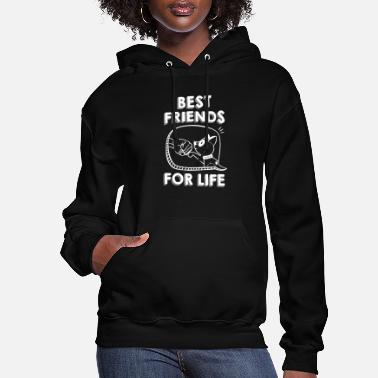 Dog Dog Best Friends For Life TShirt - Women's Hoodie