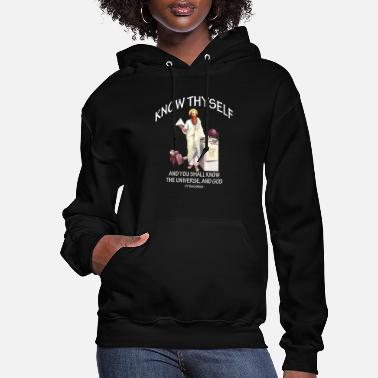 Pythagoras Pythagoras Know Thyself Apparel and Accessories - Women's Hoodie
