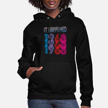 Established Ltd Edition It Happened 1968 - Women's Hoodie
