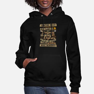 Campfire Camping Campfire Present Gift - Women's Hoodie