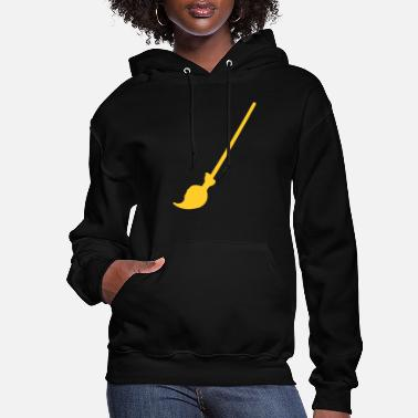 Witches Broom witch broom - Women's Hoodie