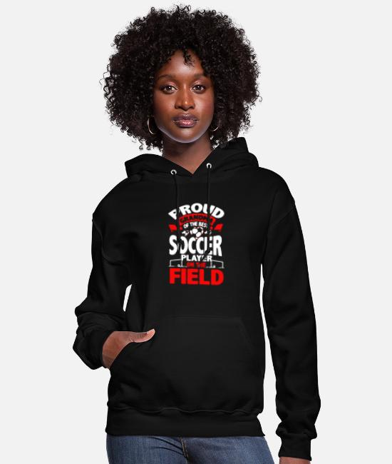 Hoodies & Sweatshirts - Grandma Soccer Player - Women's Hoodie black