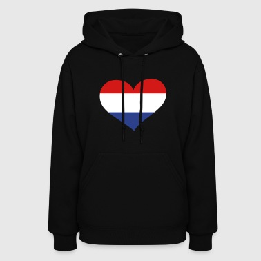 Netherlands Heart; Love Netherlands - Women's Hoodie