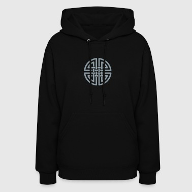 Celtic knot circle - Women's Hoodie