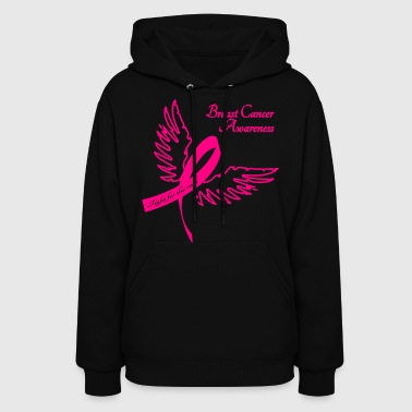 Breast Cancer Awareness Outline - Women's Hoodie
