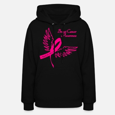 Breast Cancer Walk Breast Cancer Awareness Outline - Women's Hoodie