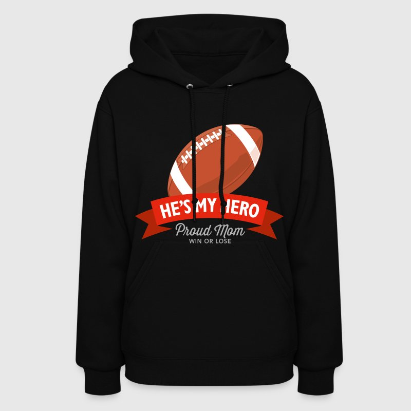 Football Mom - Women's Hoodie