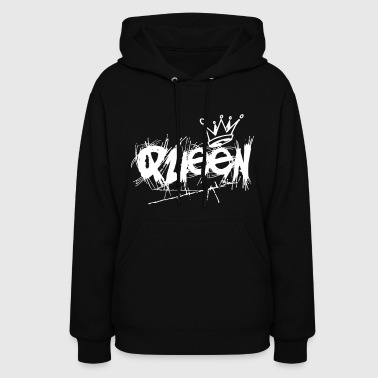King And Queen Queen Couple - Women's Hoodie