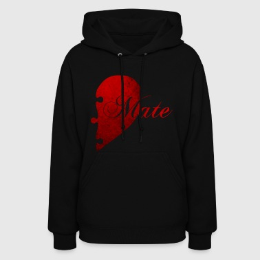 SOULMATE COUPLE RIGHT SIDE - Women's Hoodie