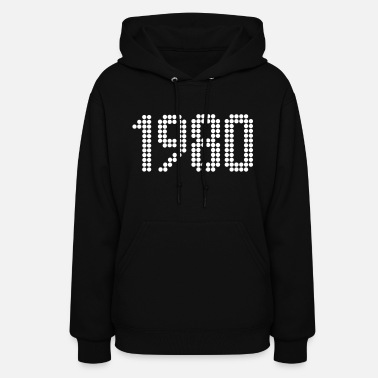 Year Of Birth 1980, Numbers, Year, Year Of Birth - Women's Hoodie