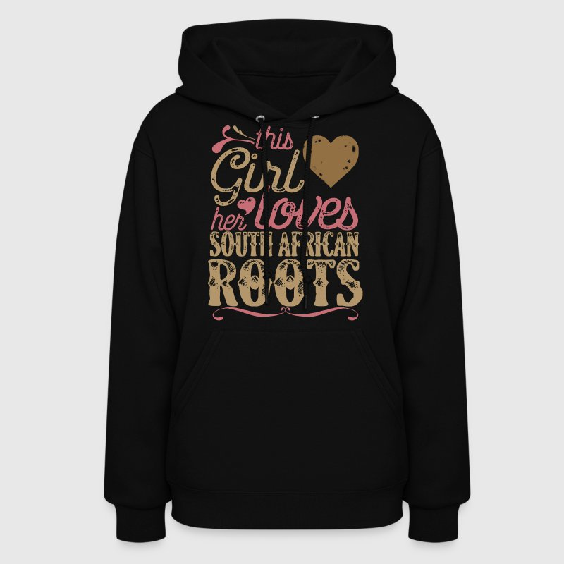 South African Roots Shirt Gift South Africa - Women's Hoodie