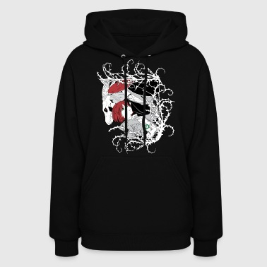 Chise & Elias White Thorns - Women's Hoodie