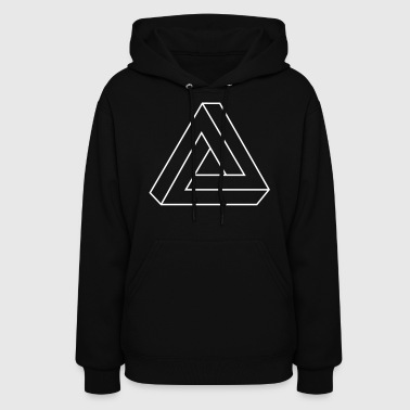 Cool Impossible Triangle - Women's Hoodie