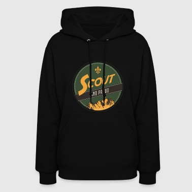 Scout and Proud Shirt for boys - Women's Hoodie