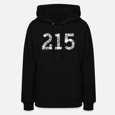 Philly 215 Philly Philadelphia Love Hearts - Women's Hoodie