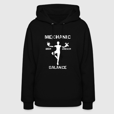 Mechanic Beer Wrench Balance T-shirt - Women's Hoodie