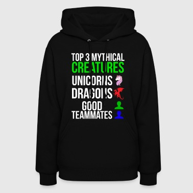 Mythical Creatures Funny Gamer T-shirt - Women's Hoodie