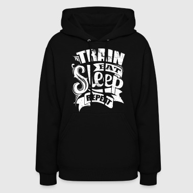 Train Gym Sports Quotes - Women's Hoodie