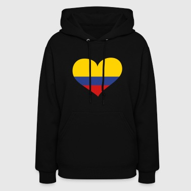 Colombia Colombia Heart; Love Colombia - Women's Hoodie