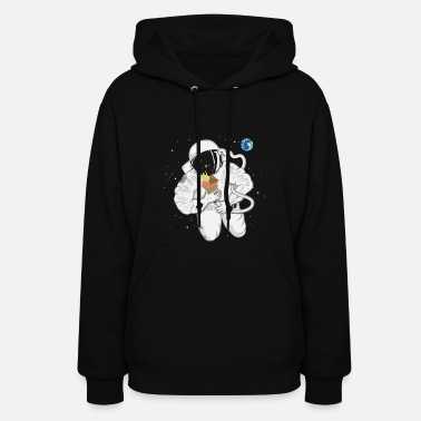 Astronaut with ice cream cone  - Women's Hoodie