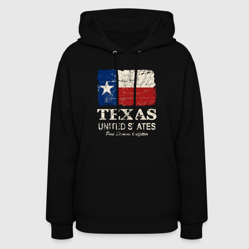 Texas Flag - Vintage Look - Women's Hoodie