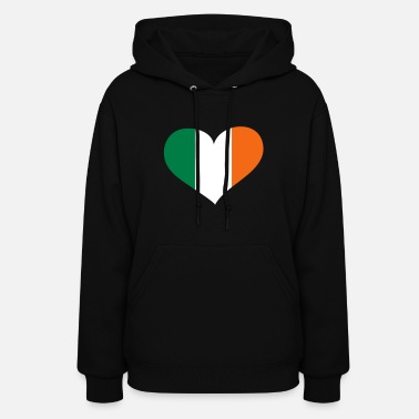 I Love Ireland Ireland Heart; Love Ireland - Women's Hoodie