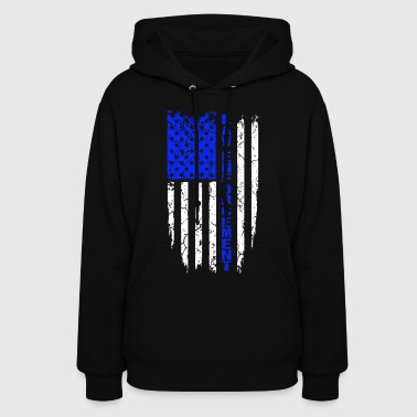 Law Enforcement Law enforcement in the United States Flag - Women's Hoodie