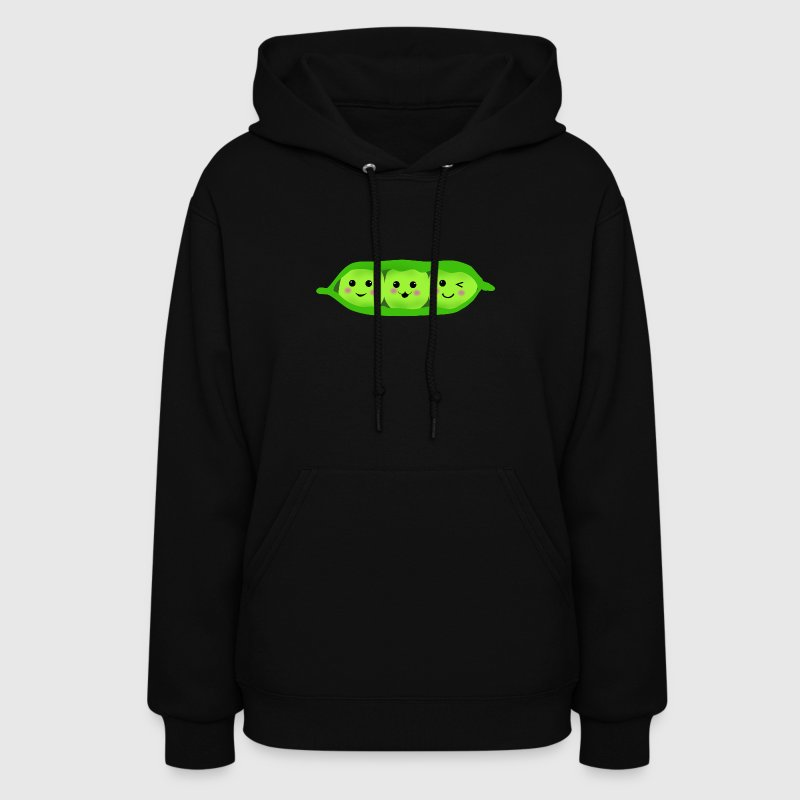 three peas in a pod - Women's Hoodie