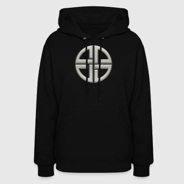 Celte Celtic shield knot, Protection Amulet, Germanic,  - Women's Hoodie