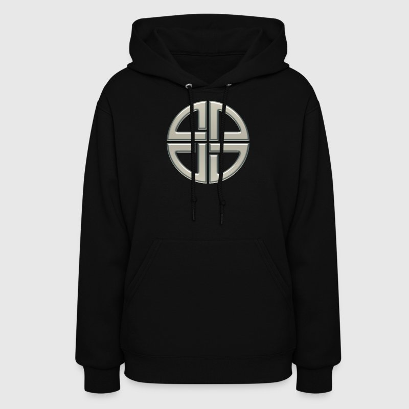 Celtic shield knot, Protection Amulet, Germanic,  - Women's Hoodie