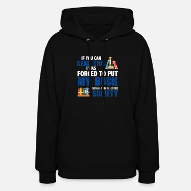 Fan Funny Book Reader or Book Lover Gift - Women's Hoodie